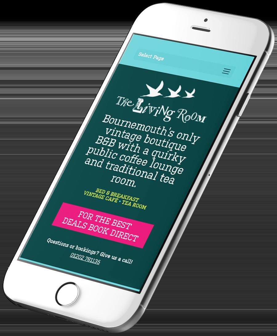 B&B Website Design Responsive - Sevenoaks Web design by Be Gallant