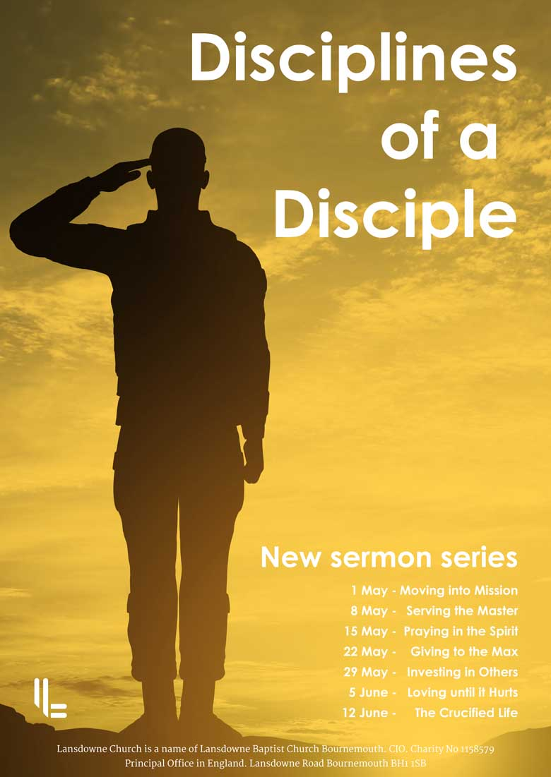 Church Sermon Series Poster Design UK - Be Gallant