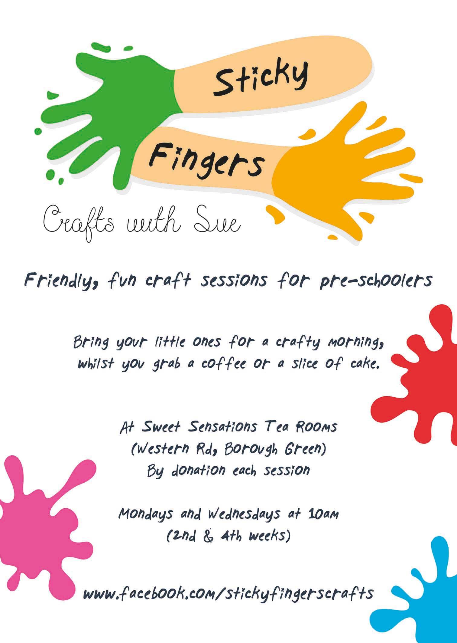 Craft Cafe Poster Designer in Borough Green & Wrotham