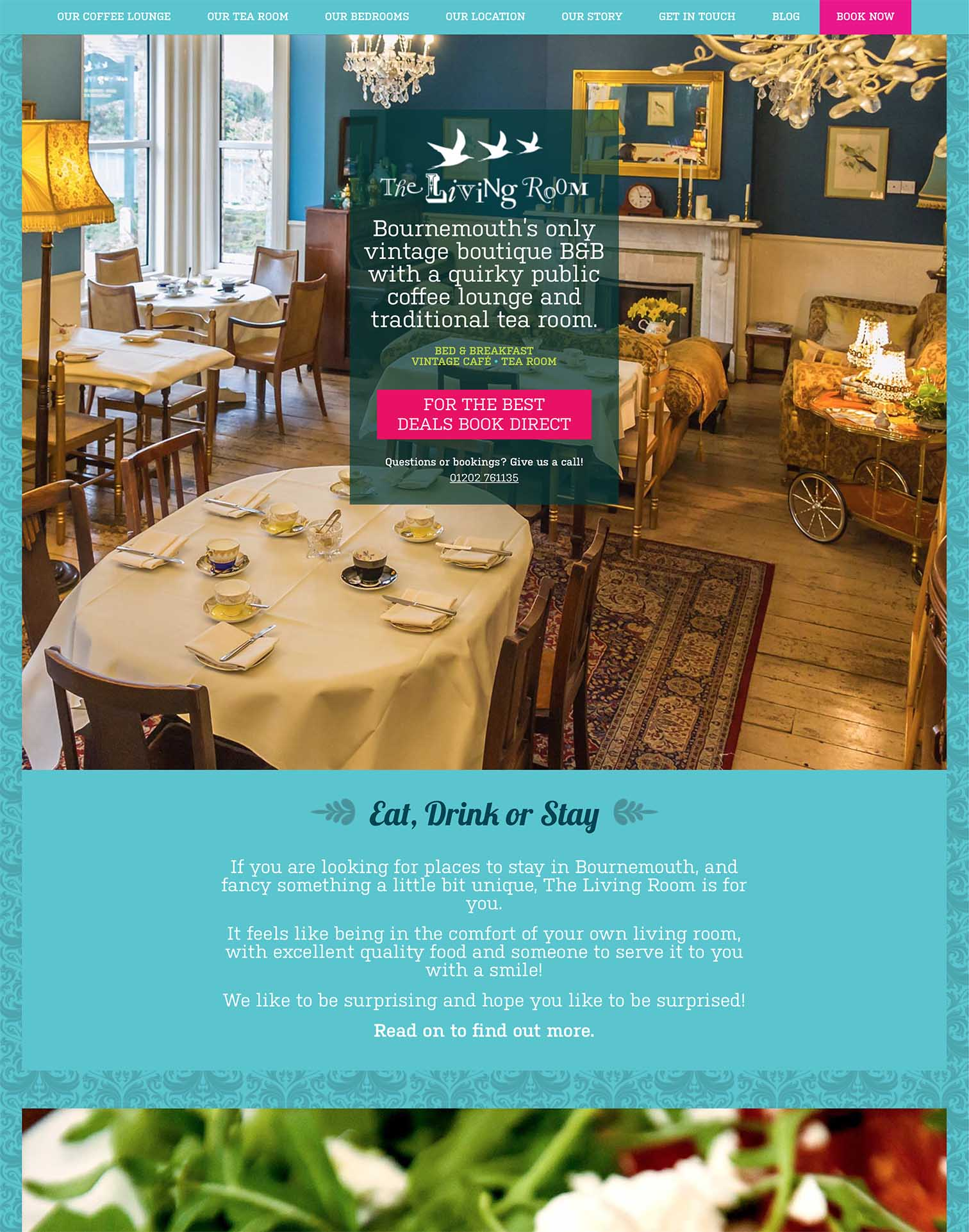 Living Room Vintage Tea Rooms Design Cafe Website - Be Gallant