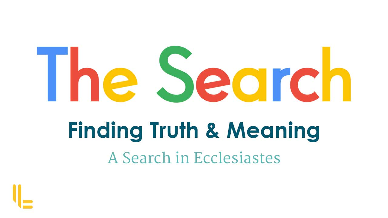 The Search Sermon Series Publicity UK